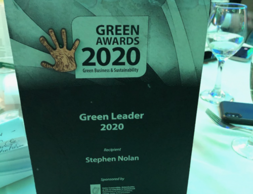 Stephen Nolan honoured as overall Green Leader Ireland Award 2020